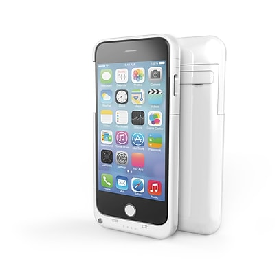 IPM iPhone 6 3200mAh Power Charging Case, White