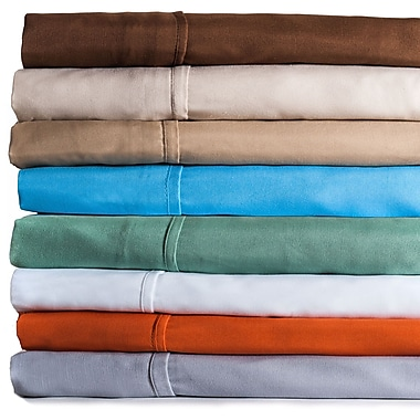 Lavish Home 100% Egyptian Cotton 300 Thread Count Queen Sheet Sets, Assorted Colors
