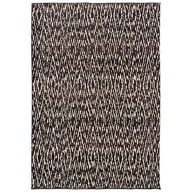StyleHaven Tribal Ikat Ivory/ Grey Indoor Machine-made Polypropylene Area Rug (5'3
