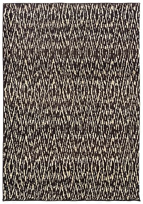 StyleHaven Tribal Ikat Ivory/ Grey Indoor Machine-made Polypropylene Area Rug (4' X 5'9