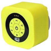 Adesso® Xtream S1 Bluetooth® 3.0 Waterproof Wireless Speaker, Yellow