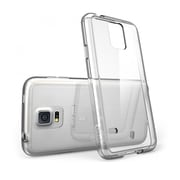 i-Blason Samsung Galaxy S5 Case, Clear Scratch Resistant Series with TPU Bumper, Clear / Clear