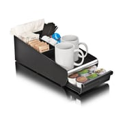 Mind Reader Vesta Coffee Condiment Organizer For 18 K-Cup, Black