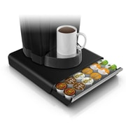 Mind Reader Hero Coffee Pod Storage Drawer for 36 K-Cup, Black