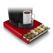 Mind Reader Hero Coffee Pod Storage Drawer For 36 K-Cup, Silver/Gray