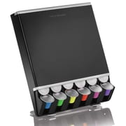 Mind Reader Free Fall Coffee Pod Dispenser For 42 Nespresso Capsules, Black