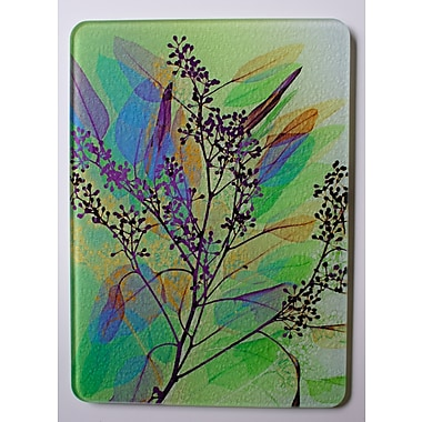 Radiant Art Studios X-ray Designs Tempered Glass Cutting Board; 12'' x 15''