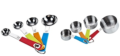 Cook N Home Cook N Home 8 Piece Measuring Spoon & Cup Set WYF078276191606