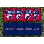 Victory Tailgate MLS Replacement All Weather Cornhole Game Bag Set; FC Dallas