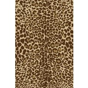 Well Woven Kings Court Gold Leopard Print Area Rug; 5' x 7'