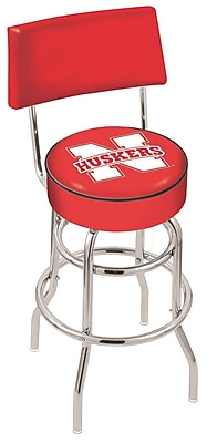Holland Bar Stool NCAA 25'' Swivel Bar Stool; University of Nebraska