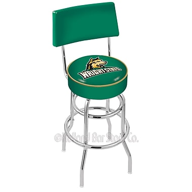 Holland Bar Stool NCAA 25'' Swivel Bar Stool; Wright State University