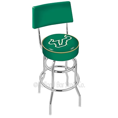 Holland Bar Stool NCAA 25'' Swivel Bar Stool; University of South Florida