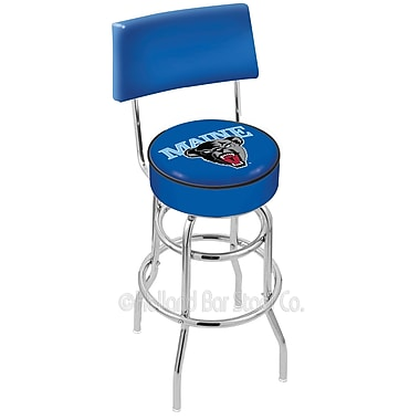 Holland Bar Stool NCAA 25'' Swivel Bar Stool; University of Maine