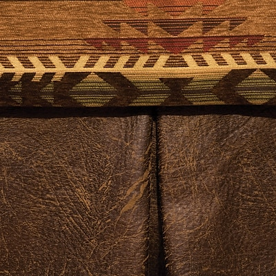 Wooded River Stampede Bed Skirt; California King