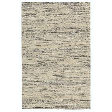 Nourison Sterling Hand-Tufted Beige/Gray Area Rug; Runner 2'3'' x 7'6''