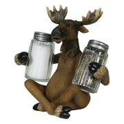 River's Edge Products Glass Salt and Pepper Set