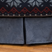 Wooded River Nordic Bed Skirt; King