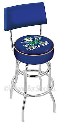 Holland Bar Stool NCAA 30'' Swivel Bar Stool; Notre Dame- Leprechaun