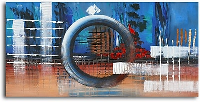 Omax Decor The Third Wheel Oil Painting on Canvas WYF078277077563
