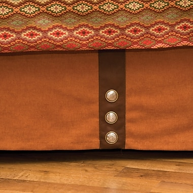 Wooded River Marquise IV Bed Skirt; Twin