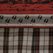 Wooded River Moose Hollow Bed Skirt; Twin