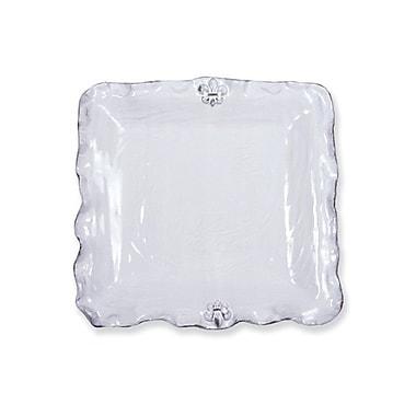 Abigails Fleur De Lis Square Platter