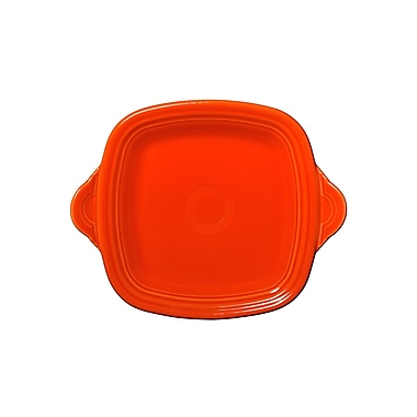 Fiesta Square Serving Tray; Poppy