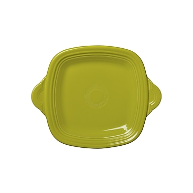 Fiesta Square Serving Tray; Lemongrass