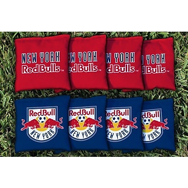 Victory Tailgate MLS Replacement All Weather Cornhole Game Bag Set; New York Red Bulls