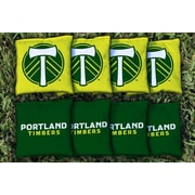 Victory Tailgate MLS Replacement All Weather Cornhole Game Bag Set; Portland Timbers