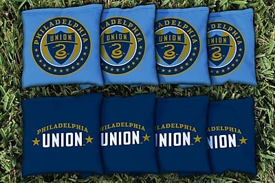 Victory Tailgate MLS Replacement All Weather Cornhole Game Bag Set; Philadelphia Union Zolos
