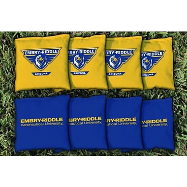 Victory Tailgate NAIA Replacement All Weather Cornhole Bag Set; Embry Riddle Prescott Eagles