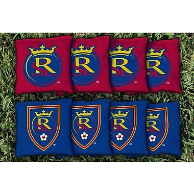 Victory Tailgate MLS Replacement All Weather Cornhole Game Bag Set; Real Salt Lake Royals