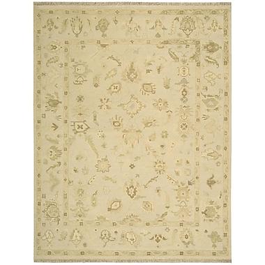 Nourison Nourmak Encore Hand-Woven Wheat Area Rug; 8'6'' x 11'6''