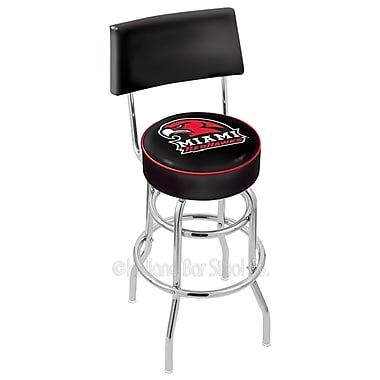 Holland Bar Stool NCAA 30'' Swivel Bar Stool; Miami University
