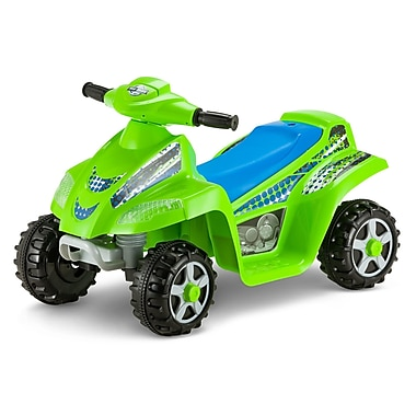 Kid Trax Moto Trax Toddler 6V Quad; Green