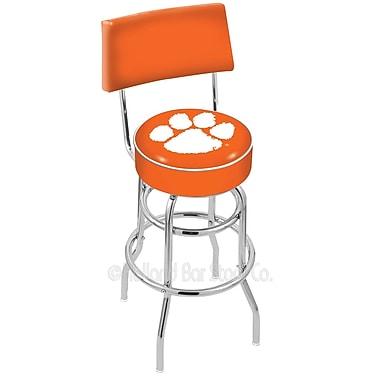Holland Bar Stool NCAA 25'' Swivel Bar Stool; Clemson