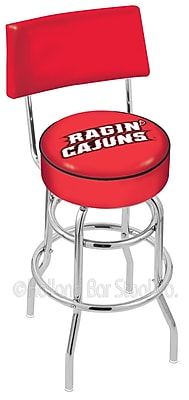 Holland Bar Stool NCAA 30'' Swivel Bar Stool; University of Louisiana at Lafayette