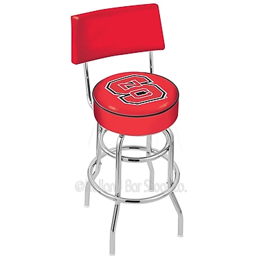 Holland Bar Stool NCAA 25'' Swivel Bar Stool; North Carolina State University