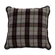 Wooded River Moose Hollow Throw Pillow