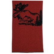 Wooded River Moose Hollow Center Throw