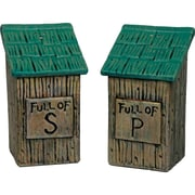 River's Edge Products Outhouse Salt and Pepper Shaker