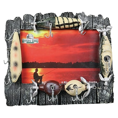 River's Edge Products Resin Lure Picture Frame