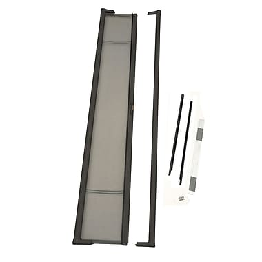 Zabitat Brisa Retractable Screen Door; Bronze