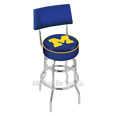 Holland Bar Stool NCAA 30'' Swivel Bar Stool; University of Michigan