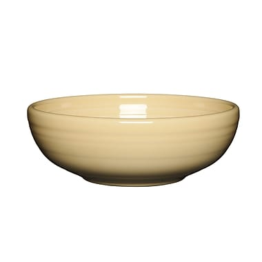 Fiesta Serving Bowl; Ivory