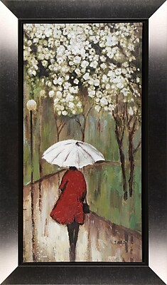 Hobbitholeco. Spring Path I by Tina O. Framed Painting