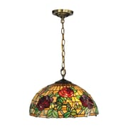 Dale Tiffany Rosewood Tiffany 1-Light Mini Pendant