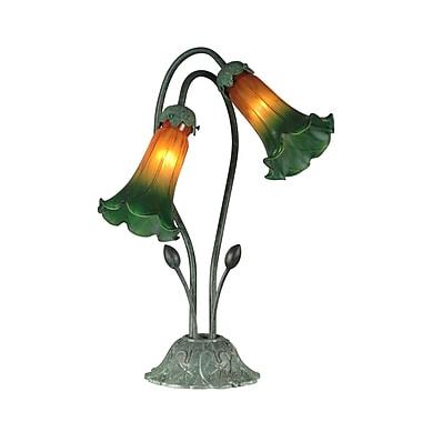 Dale Tiffany Auratum Lily 17.5'' Table Lamp
